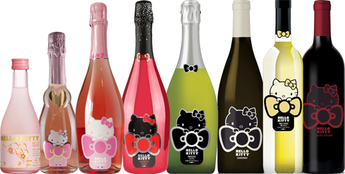 Shop The Hello Kitty Wine Collection Hello Kitty Wines